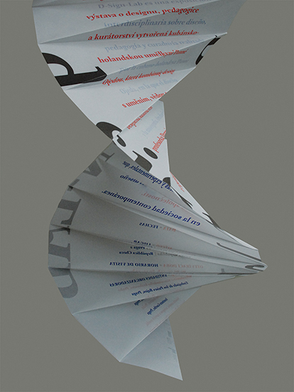 DNA poster unfolded